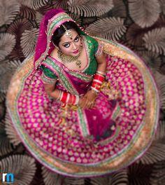 Bride in pink