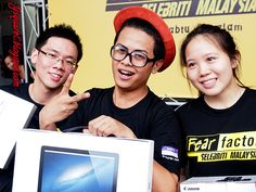 Fear Factor Malaysia #fearfactormy @fearfactormy The winners of Fear Factor Malaysia blogger challenge