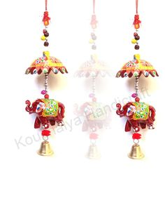 Indian Handmade Handicraft Decorative Elephant Door Hanging For Festival Decor, Use Also For Gift Greeting