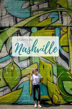 The perfect Nashville itinerary for three days in the Music City travel destinations 2019 From whiskey tasting and partying on Lower Broadway to getting your country music fix, here's the perfect itinerary for spending three days in Nashville Vacation, Tennessee Vacation, Nashville Usa, Nashville Things To Do, Visit Nashville, Florida Vacation, South America Destinations, South America Travel, North America