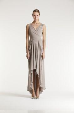 Design by katri/n: Dusk long dress (Spring Summer Finland Soft Summer, Spring Summer, Minimalist Fashion, Designer Dresses, Going Out, Fashion Show, Dressing, Elegant, Fashion Designers