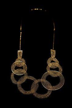 """Laura Cadelo Bertrand - """"segreti e bugie"""" necklace"""