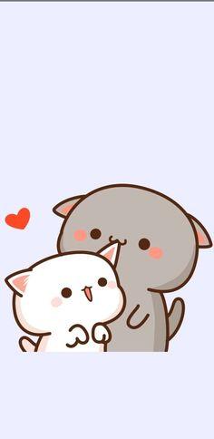 Cute Bunny Cartoon, Cute Kawaii Animals, Cute Cartoon Pictures, Cute Love Pictures, Cute Couple Wallpaper, Cute Pastel Wallpaper, Cute Disney Wallpaper, Cute Cartoon Wallpapers, Wallpaper Panda
