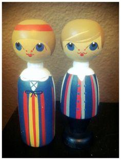 Peg Dolls - Wedding Topper