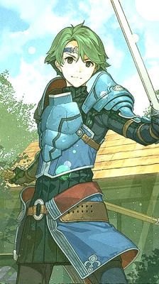 "Grey: ""You know why Alm grew up in Ram Village? Cause it was the best place he could learn to RAM swords through--"" *Kliff punches Grey in the face*"