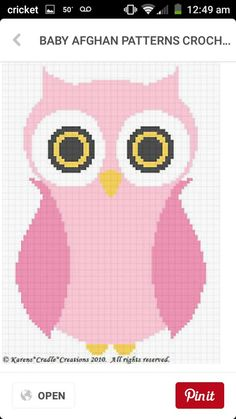 20 Best Pictured Graphs For Knitting Or Crocheting Images