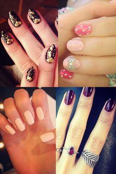 Unhas decoradas das famosas: a manicure e nail art das celebridades