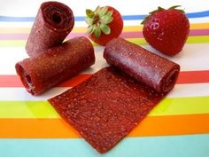 Easy Homemade Fruit Roll-Ups | Healthy Snacks - YouTube
