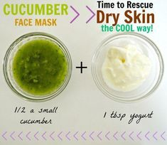 Skin Care Advice That Will Help At Any Age Even dry flaky skin that peels off like dry glue can be rescued with this gentle and cooling cucumber face mask. For extra moisture, add in coconut or olive oil. Dry Flaky Skin, Dry Skin, Greasy Skin, Homemade Face Masks, Homemade Skin Care, Cucumber Face Mask, Face Care Routine, Belleza Natural, Healthy Skin