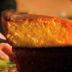 Moelleux à l'orange, huile d'olive et safran - Julie Andrieu
