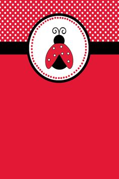 lady bug page Cellphone Wallpaper, Iphone Wallpaper, Cute Wallpapers, Wallpaper Backgrounds, Baby Ladybug, Ladybug Crafts, Class Decoration, Scrapbooking, Planner
