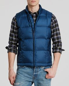 Ps Jeans Quilted Down Gilet