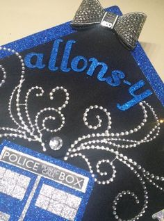 Doctor Who Inspired Graduation Cap @ Celia Connolly, we should have done this!!