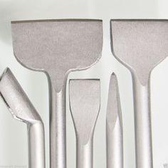 SDS Plus Meißel 250 mm oder 600 mm Länge /Fliesen-/Spat-/Breit-/Spitz-/Kanal-/