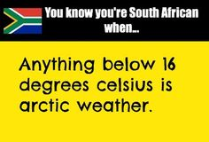 True story - just ask any South African #bootsandscarfweather