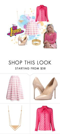 """soy luna"" by maria-look on Polyvore featuring re:named, Massimo Matteo, Allurez, Yves Saint Laurent and Amanda Keidan"