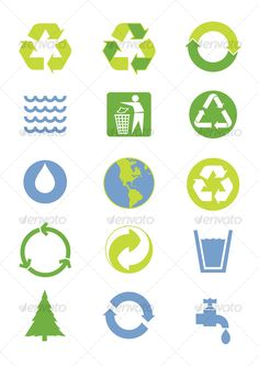Realistic Graphic DOWNLOAD (.ai, .psd) :: http://jquery.re/pinterest-itmid-1000055816i.html ... Environmental icons ... <p>Green and blue environmental icons</p> blue, clean, ecology, environment, green, nature, recycling, recycling, symbol, vector  ... Realistic Photo Graphic Print Obejct Business Web Elements Illustration Design Templates ... DOWNLOAD :: http://jquery.re/pinterest-itmid-1000055816i.html