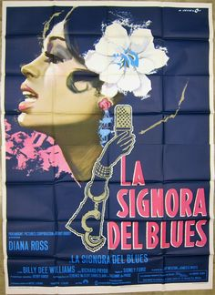 Lady Sings The Blues (1973) What an amazing poster!