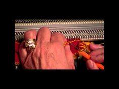 Passap Striped Scarf Part 3 - YouTube