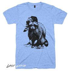 Bad Raccoon T Shirt | Funny Camping Tshirts