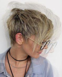 E D G E . . . #pixie #cool #shorthair #undercut #la #anhcotran #beverlyhills #freshcut