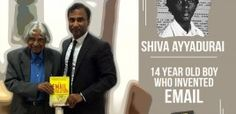 Shiva, the boy who invented Email at 14.