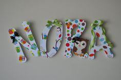 onemommydesigns nursery lettering!