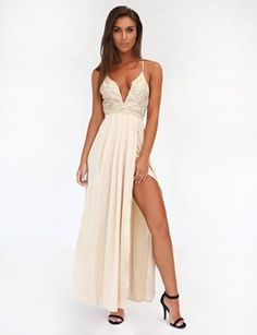 THE RITZ MAXI DRESS