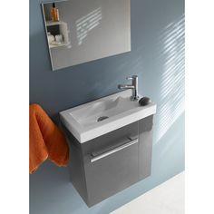 lave mains gris beryl castorama id e toilette rdc. Black Bedroom Furniture Sets. Home Design Ideas