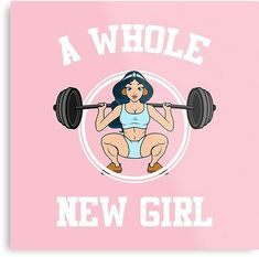 'A whole new girl' Metal Print by maramk More from my site Figur 50 Reasons to Exercise – Motivation ✿✿✿♥♥♥✿✿✿♥♥♥✿✿… No-equipment legs workout for all fitness levels. Workout Memes, Gym Memes, Gym Humor, Sport Motivation, Fitness Motivation Quotes, Funny Gym Motivation, Gym Frases, Fitness Diary, Fitness Journal