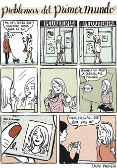 Problemas del primer mundo por Laura Pacheco.