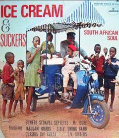 Various : Ice Cream & Suckers -- South African Soul (LP, Vinyl record album) Frances Quinn, Greatest Album Covers, Lp Cover, Cover Art, Bad Album, Great Albums, Vintage Records, Album Design, World Music