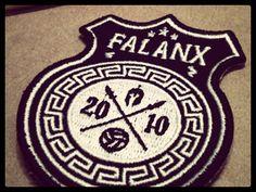 Falanx Soccer Badge – Made By Thomas