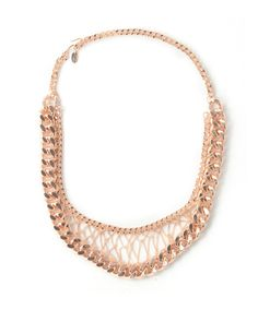 Karen London: Give Me Your Leather Necklace #RoseGold <3