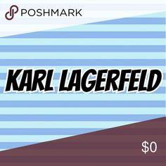 Designer Karl Lagerfeld Designer Name Karl Lagerfeld Other