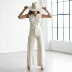 Sailor Pant - Natural