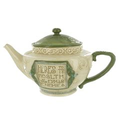 Celtic Teapot - Here's to Heath http://www.englishteastore.com/irish-teapot-health.html