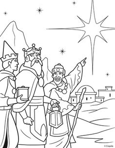 epiphany coloring pages free - photo#27