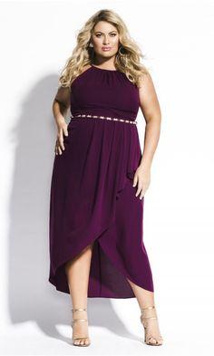 0eb88b2f09f Shop Women s Plus Size Devotion Maxi Dress - navy - New