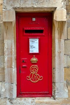 Red Post Box, England
