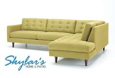 oliver sectional sofa by custom sofa design Hotel Lobby, Homemade Sofa, Mid Century Sectional, Custom Couches, Modern Sectional, Sectional Sofas, Deep Sectional, Small Sectional, Modern Couch