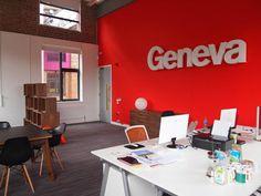 Geneva Digital Agency messy office!