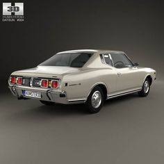 Datsun 260C coupe 1976 3d model