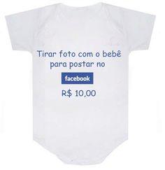 Body - Tirar foto com o bebê - Comprar em lojanick