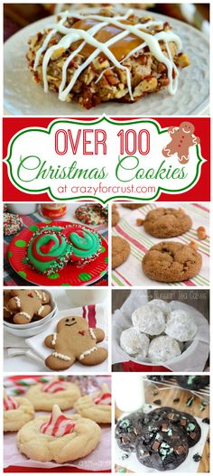 Over 100 Christmas Cookies at crazyforcrust.com