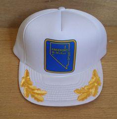 d07a72da8 RESERVED -Vintage Snapback Trucker Hat