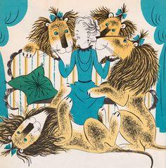 Miss Lollipop's Lion - written & illustrated by Judy Varga (1963).