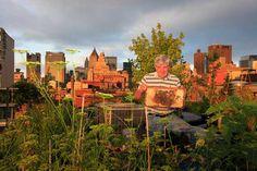 Beekeeper in New York City