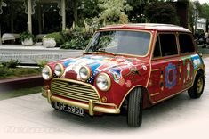 In 1966, Beatles manager Brian Epstein gave each of the Beatles a Mini Cooper S...George Harrison's car appeared in the film Magical Mystery Tour. George Harrison, Pattie Boyd, John Lennon, and Cynthia Lennon took their first acid trip in it.