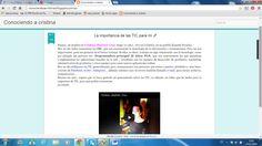 Esta es la captura de mi blog,  http://conociendoacristina.blogspot.com.es/